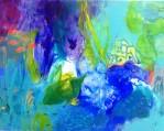 Wasserwelten 64x80 cm