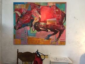 "Artyom Kapusta. Memory of the latest ""International Art Symposium "" organized by Gallery Luz de la Vida."
