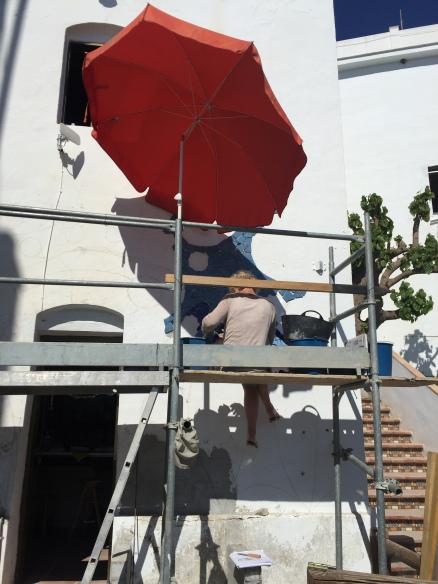 Anne Barbara Lenzin, work in progress
