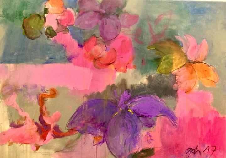 Raum für die Acrylfarben-Space for the acrylic colores- un espacio para los coloresacrilios