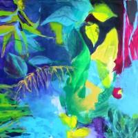 See my paintings at Cómpeta - ver mis pinturas en Cómpeta - Ausstellung in Cómpeta