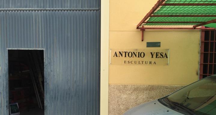 Visiting Art: Antonio Yesa, a very actuell memory – eine ganz aktuelle Erinnerung – un recuerdo muyreciente