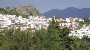 Gaucín with castle