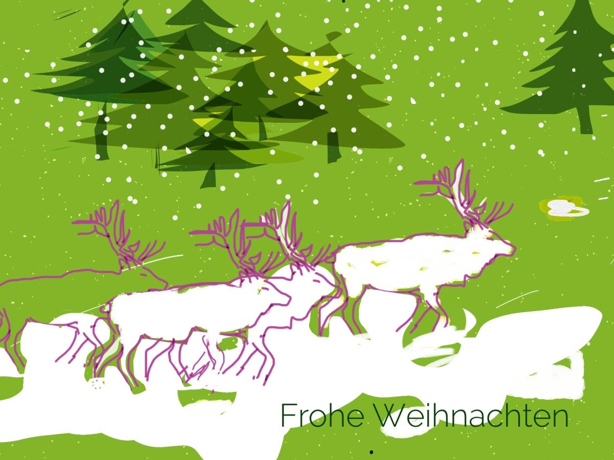 Merry Christmas - Feliz Navidad - Frohe Weihnachten