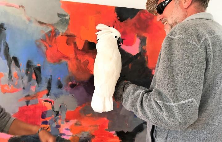 Exhibiting at the Art Walk Cómpeta / Exponer en el Art WalkCompéta