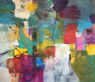 """""""Think big - Dream in Color!"""" 160x140 cm"""
