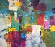 """Oppelland-Hampel """"Wild dreams"""" 160x140 cm"""