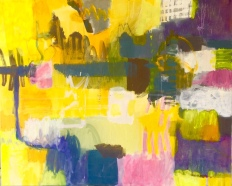 Summer in the city 81x65 cm
