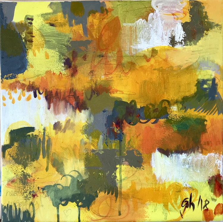 Yellow symphony 40x40 cm