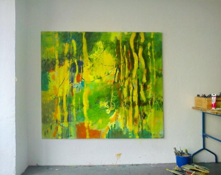 Wood 1 still in the studio
