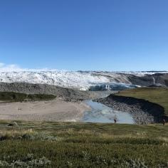 Innland ice shield Greenland