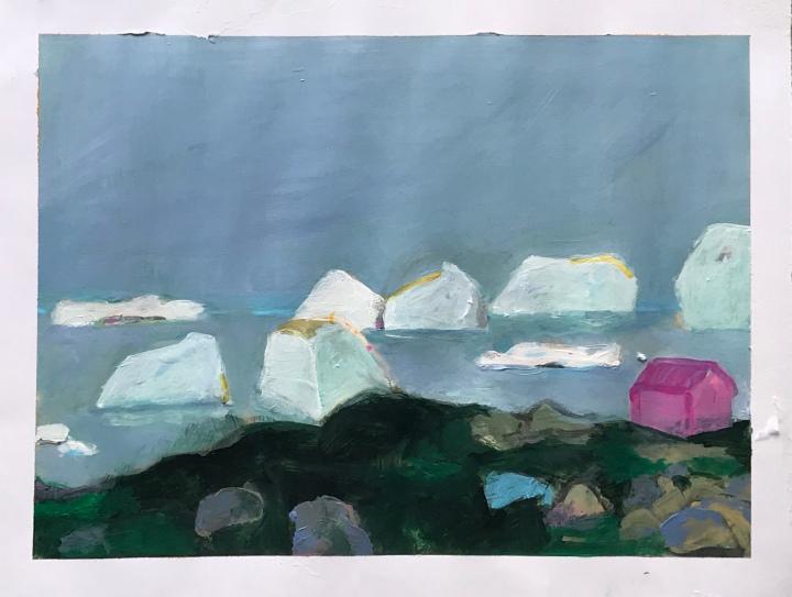 A little Greenland Series – eine kleine Grönland Serie -Una pequeña serie deGroenlandia.