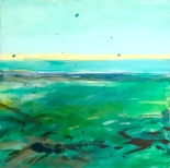Traum vom Meer, Akryl auf Leinwand 50x50 cm