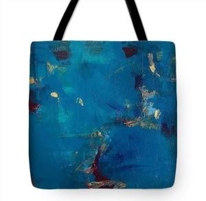"""""""Stars"""" Stofftasche mit Bildaufdruck, ca. 45x45 cm"""