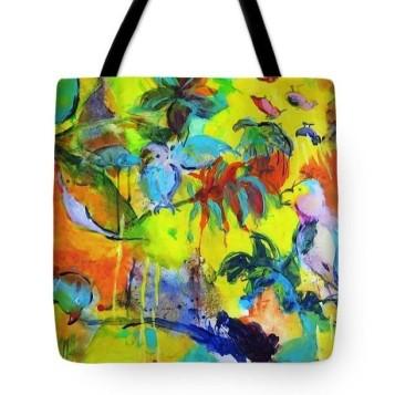 tote bag birds
