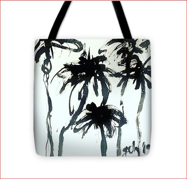 Carry your favorit art work on a tote bag!  Come and see some of them at the ART WALK CÓMPETA!